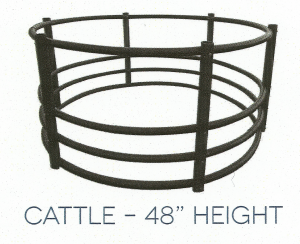 "cattle 48"" poly hay ring"